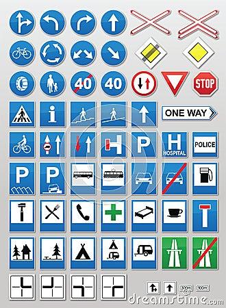 Señales de tráfico: Información