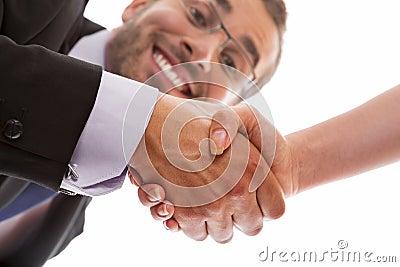 Sealing a deal