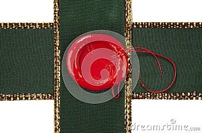 Sealing wax with ribbons