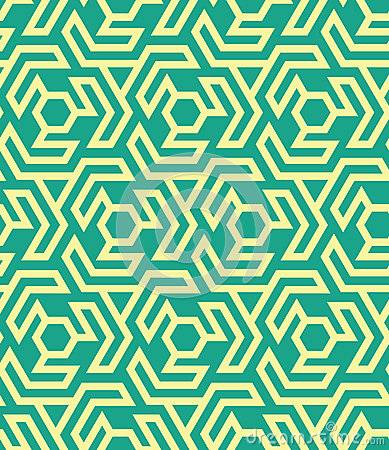 Free Seamles Geometric Pattern From Hexagons And Triangles - Vector Eps8 Royalty Free Stock Images - 87627949