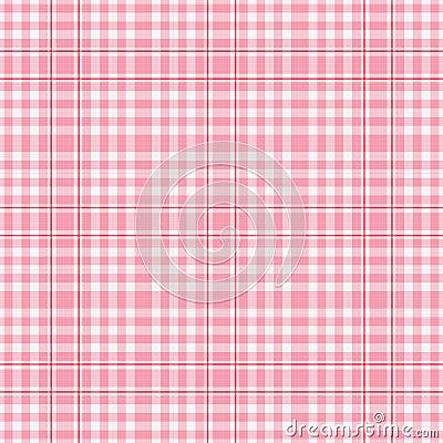 Free Seamles Pink White Plaid Royalty Free Stock Photos - 1905228