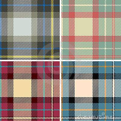Free Seamles Plaid Royalty Free Stock Image - 4355116
