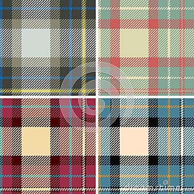 Seamles szkockich krat