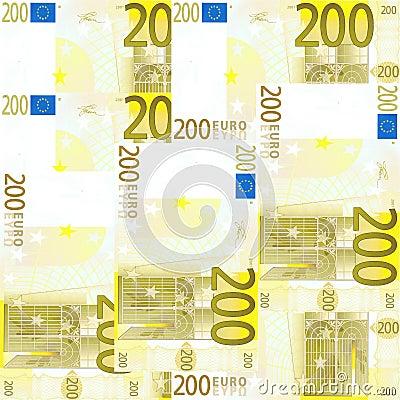 Seamless 200 Euro s