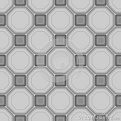 Seamless 3d tile pattern