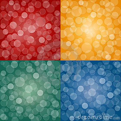 Seamless abstract backgrounds