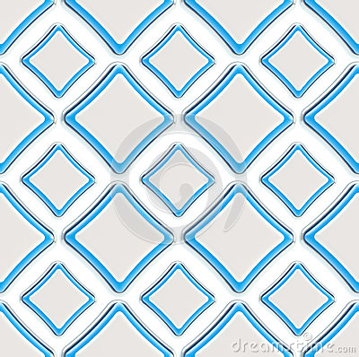 Seamless abstract geometric square background