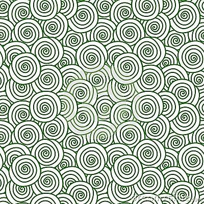 Lawn grass swirls seamless texture Stock Photo