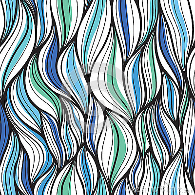 Seamless abstract pattern. A dynamic and continuou