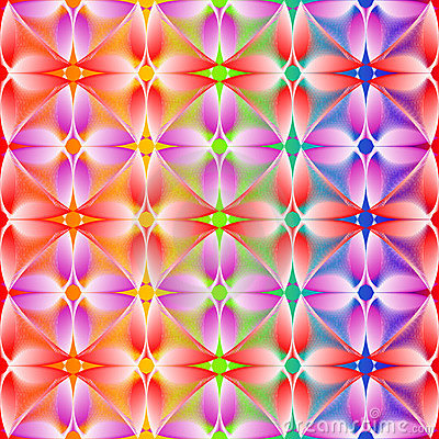 Seamless abstract vivid pattern