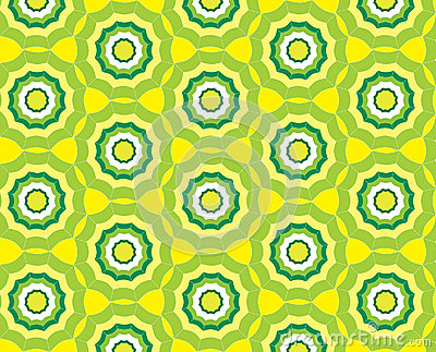 Seamless abstract yellow pattern background with