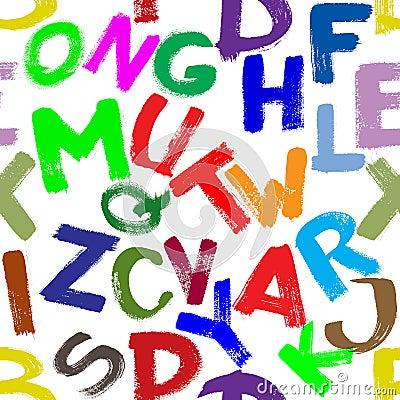 Seamless alfabet