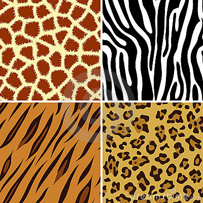 Seamless animal print