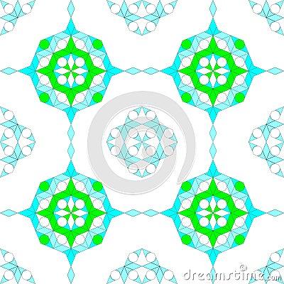 Seamless Arabesque Pattern Background