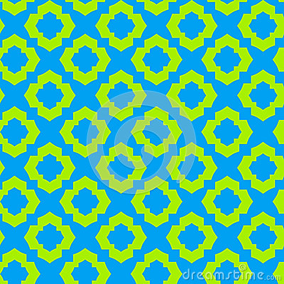 Seamless arabic pattern tile