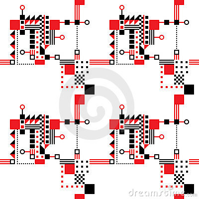 Seamless Art Deco Pattern