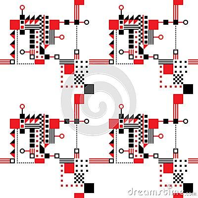 Seamless Art Deco Pattern