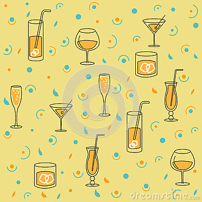 Seamless Background for Alcohol Production