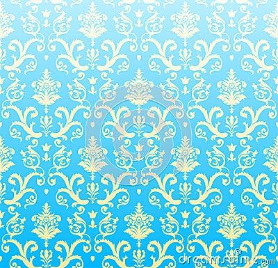 Seamless background azure