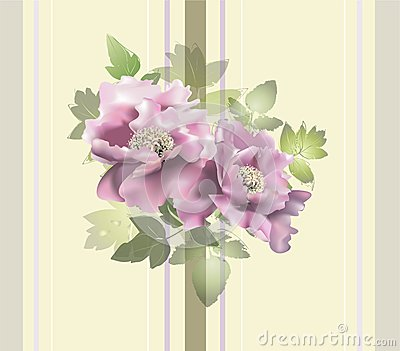 Seamless background from a flowers ornament, fashi
