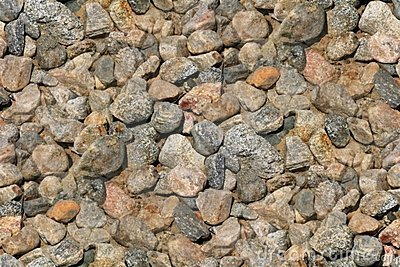 Seamless Background Gravel Stones