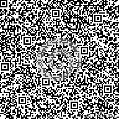 Seamless background with QR code pattern