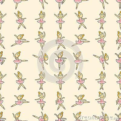Seamless Ballet pattern