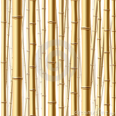 Seamless bamboo forest