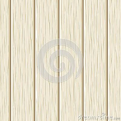 Seamless beige wooden planks texture. Vector illustration. Vector Illustration