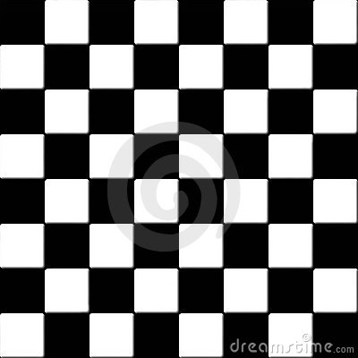 Free Seamless Black And White Checkered Tiles Royalty Free Stock Images - 13273539
