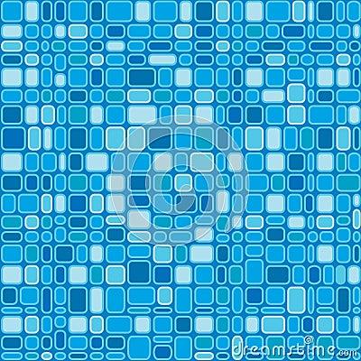 Seamless Blue Squares