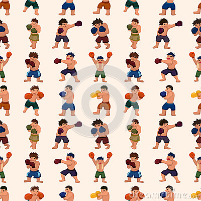 Seamless boxer pattern