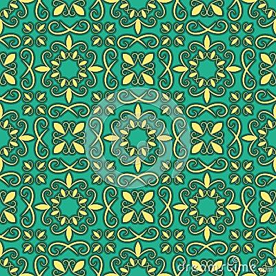 Seamless bright pattern