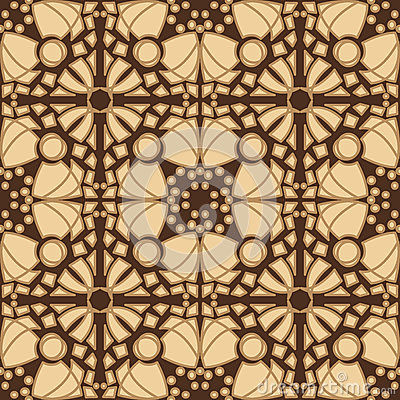 Seamless Brown Tiles