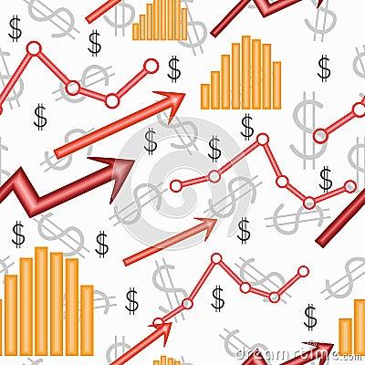 Seamless business wallpaper