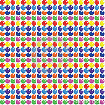 Seamless Candy Dots Background