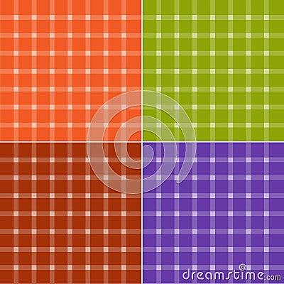 Seamless check patterns