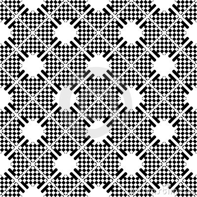 Seamless checkered pattern.