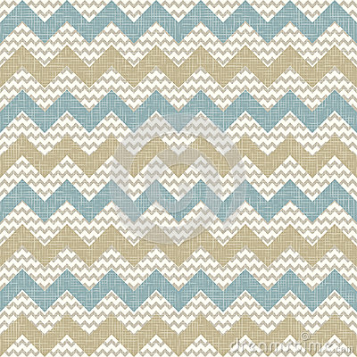 Free Seamless Chevron Pattern On Linen Texture Stock Photos - 27389913