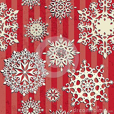 Seamless christmas background.