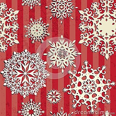 Seamless christmas background.