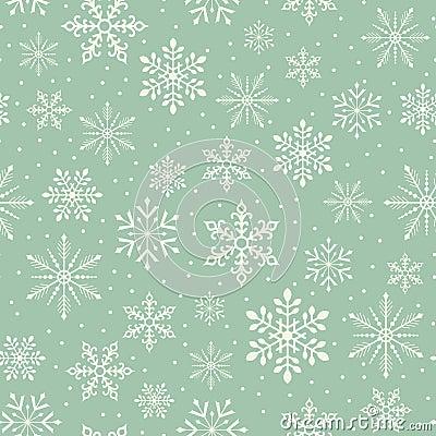 Free Seamless Christmas Snowflake Background Stock Photo - 59008950