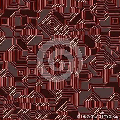 Seamless circuit texture