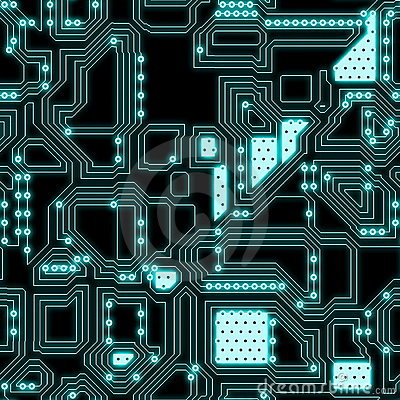seamless circuitry royalty free stock photography image