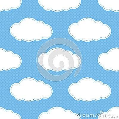 Seamless Cloud Pattern