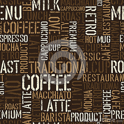 Free Seamless Coffee Experience Pattern. Royalty Free Stock Images - 25987619