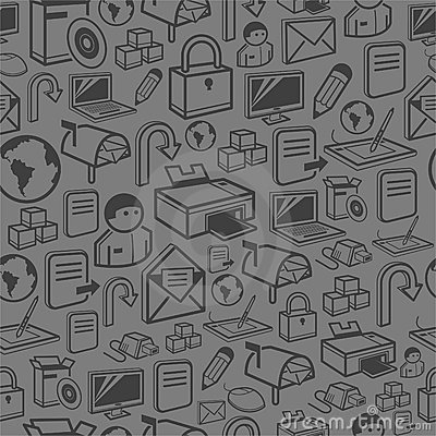 A seamless computer background