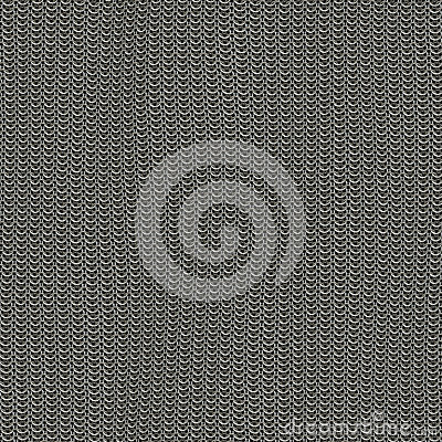 Free Seamless Computer Generated Metal Chain Mail Texture Not Damaged Stock Photography - 31204322