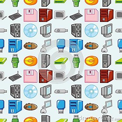Seamless computer pattern