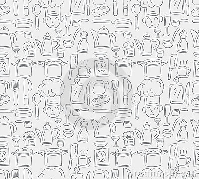 Seamless cooking pattern